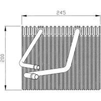 NRF - Evaporator, air conditioning