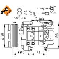 NRF - Compressor, air conditioning