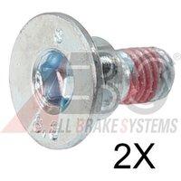 A.B.S. - Bolt, brake disc