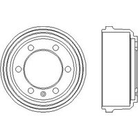 HELLA PAGID - Brake Drum