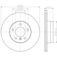 HELLA PAGID - Brake Disc (Set)