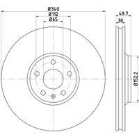 HELLA PAGID - Brake Disc