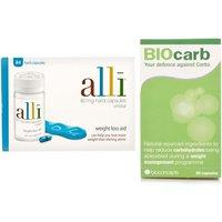 Alli 84 Capsules & BioCARB Natural Carb Blocker