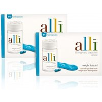Alli Capsules - Twin Pack (EXP July 19)