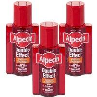 Alpecin Double Effect Shampoo - Triple Pack