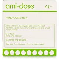 Amidose Sterile Saline 12 X 30ml