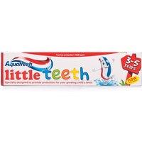 Aquafresh Little Teeth Toothpaste 3 - 5 Years. Mild Minty.
