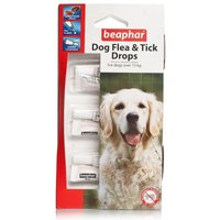 Beaphar Flea & Tick Drops For Large Dogs 12 Weeks