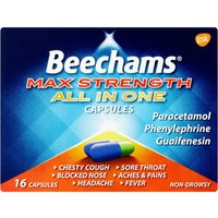 Beechams Max Strength All In One Capsules 16s