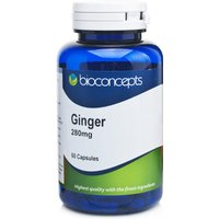 Bioconcepts Ginger 280mg Capsules