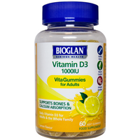 Bioglan Adult Vitagummies Vitamin D3 1000iu