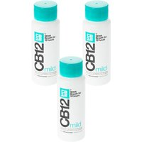 CB12 Mild Mint-Menthol Mouthwash - Triple Pack