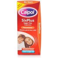 Calpol Six Plus Sugar Free Suspension Liquid