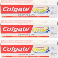 Colgate Total Original Care Toothpaste - Triple Pack