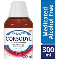 Corsodyl 0.2% Alcohol Free Mint Gum Problem Treatment Mouthwash