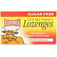 Covonia Sugar Free Double Impact Lozenges Original