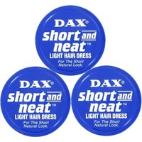 Dax Wax Blue Short And Neat - Triple Pack