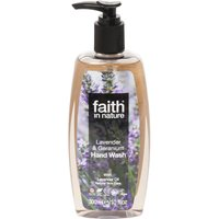 Faith in Nature Lavender and Geranium Handwash