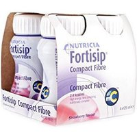Fortisip Feeding Supplement Compact Fibre Strawberry