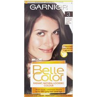 Garnier Belle Color Permanent 3 Natural Intense Dark Brown