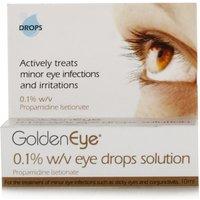 Golden Eye 0.1% w/v Eye Drops Solution
