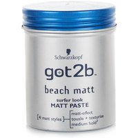 Schwarzkopf Got2b Beach Matt Surfer Look Matt Paste