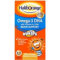 Haliborange Kids Omega-3 Fish Oil Chewy Capsules