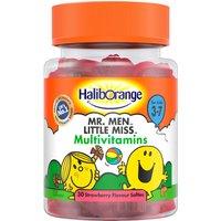Haliborange Mr. Men Little Miss Multivitamin Strawberry Softies 30s