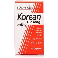 HealthAid Korean Ginseng 250mg