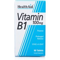HealthAid Vitamin B1 100mg Tablets (Thiamin)