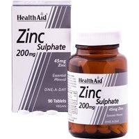 Healthaid Zinc Sulphate 200mg Tablets