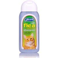 Johnsons Cat Flea Cleanser Shampoo