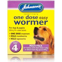 Johnsons One Dose Easy Wormer Multipack