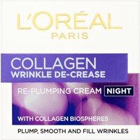 L'Oreal Paris Collagen Wrinkle De-Crease Cream Night