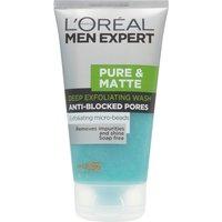 LOreal Paris Men Expert Pure & Matte Scrub Face Wash