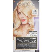 LOreal Preference Infinia 01 Natural Lightest Blonde Permanent Hair Dye