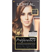 L'Oreal Preference Infinia Virginia Chestnut Brown Permanent Hair Dye