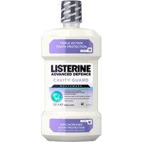 Listerine Advanced Defence Cavity Guard Mouthwash Fresh Mint 500ml