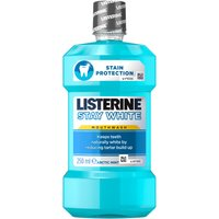 Listerine Stay White Mouthwash Arctic Mint 250ml