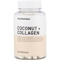 Myvitamins Coconut + Collagen 60 Capsules