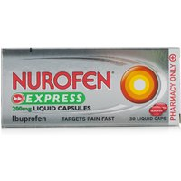 Nurofen Ibuprofen 200mg Liquid Caps