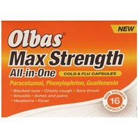 Olbas Max Strength All In One Cold & Flu Capsules