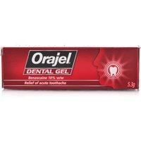 Orajel Regular Strength Dental Gel