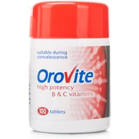 Orovite High Potency B & C Vitamin Tablets