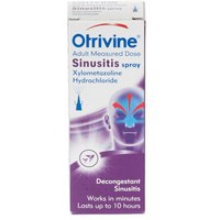 Otrivine Nasal Spray (Sinusitis)