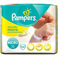 Pampers New Baby Micro Size 0