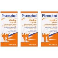 Pharmaton Vitality Capsules Triple Pack