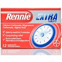 Rennie Extra Tablets