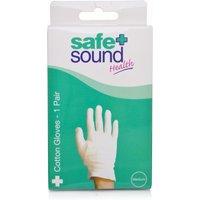 Safe & Sound Cotton Gloves Medium