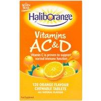 Seven Seas Haliborange Vitamins A C & D Orange Flavour